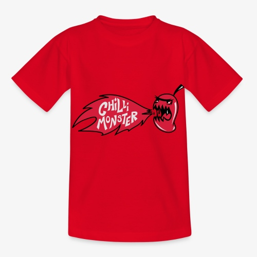 Chilli Monster - Kids' T-Shirt