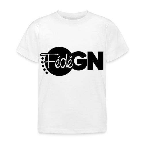 Logo FédéGN pantone - T-shirt Enfant