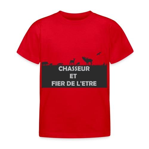 Chasseur et Fier de l'être! - T-shirt Enfant