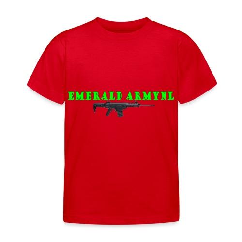 EMERALDARMYNL LETTERS! - Kinderen T-shirt