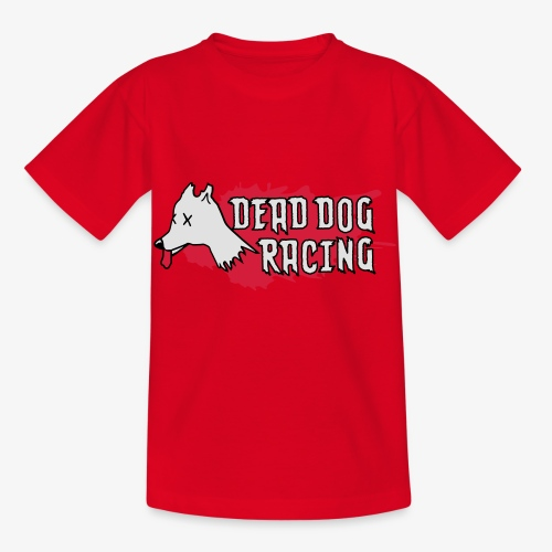 Dead dog racing logo - Kids' T-Shirt