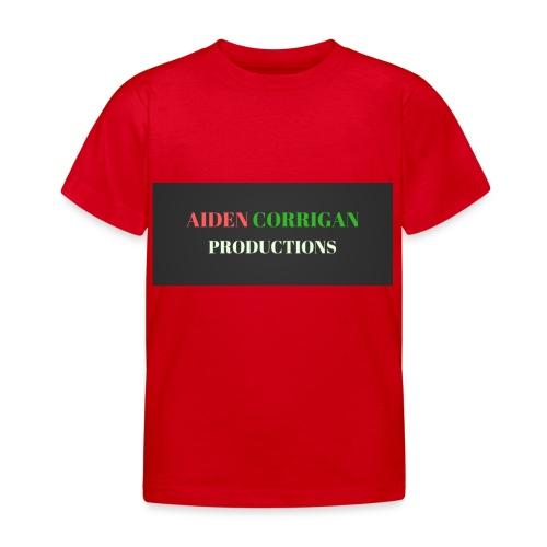 AIDEN_CORRIGAN_PRODUCTIONS - Kids' T-Shirt