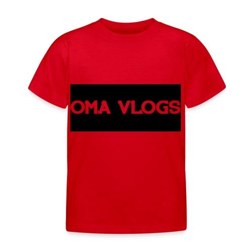 Oma Vlogs Black Logo - Kids' T-Shirt