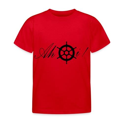 Ahoi - Kinder T-Shirt