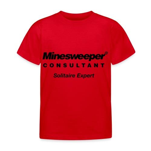 minesweeper - Kinder T-Shirt