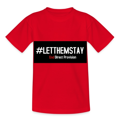 #letthemstay - Kids' T-Shirt