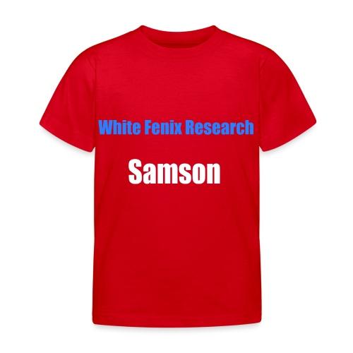 WFR Samson - T-shirt Enfant
