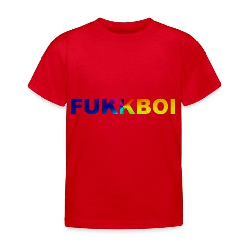 FUKKBOI - T-skjorte for barn