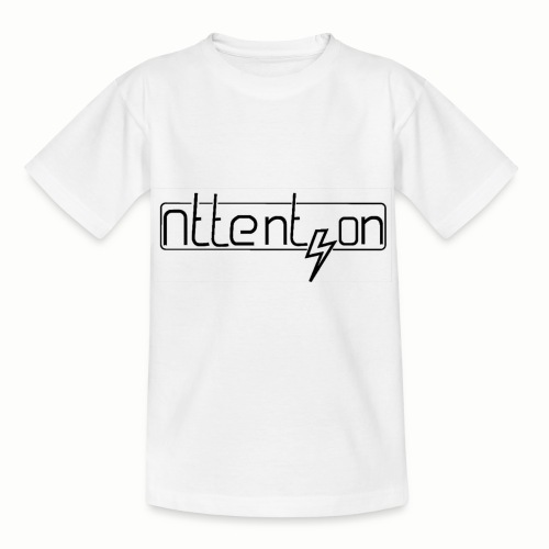 attention - Kinderen T-shirt