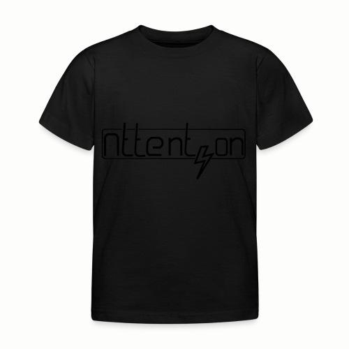 attention - Kinderen T-shirt