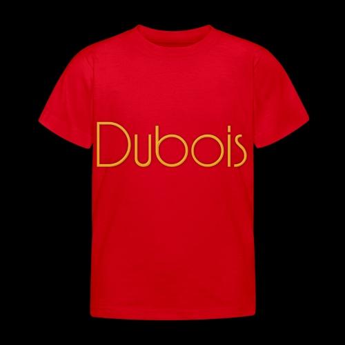 Dubois - Kinderen T-shirt