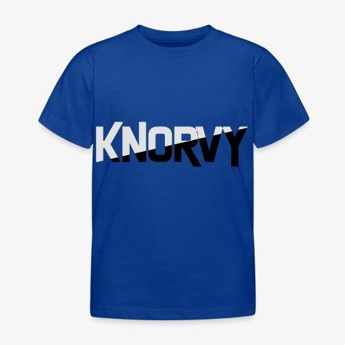 KNORVY - Kinderen T-shirt