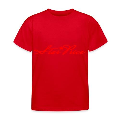 star price (red) - Kids' T-Shirt