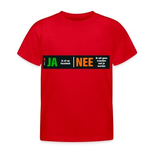 facebookvrienden - Kinderen T-shirt