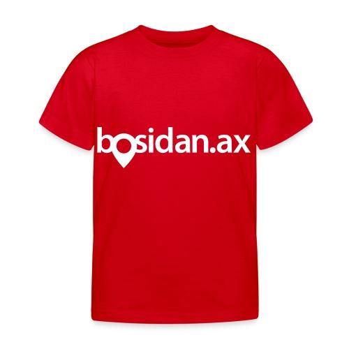 Bosidan.ax officiella logotypen - T-shirt barn