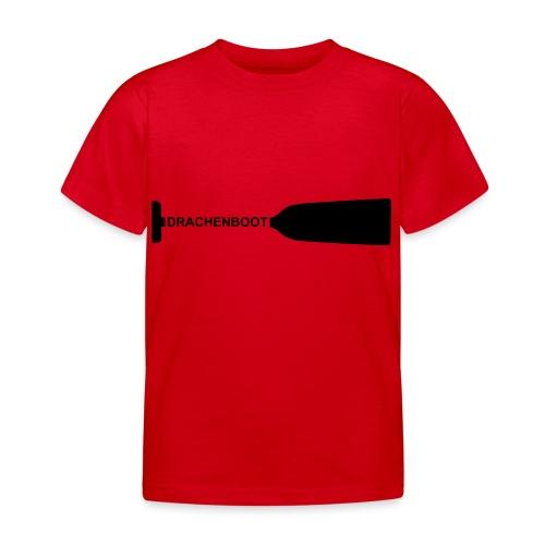 Drachenboot Paddel Drachenbootsport 1c - Kinder T-Shirt