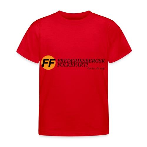 Din by, fit valg - Børnekollektion - Børne-T-shirt