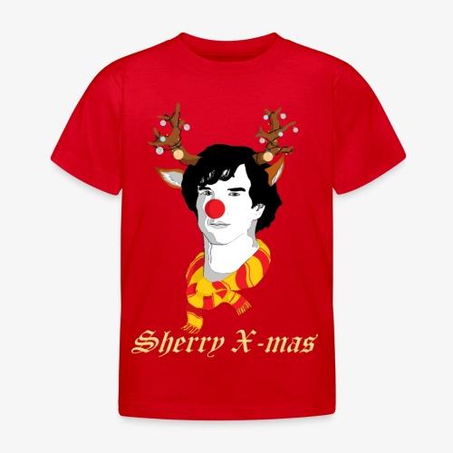 Sherlock Holmes reindeer editie - Kinderen T-shirt