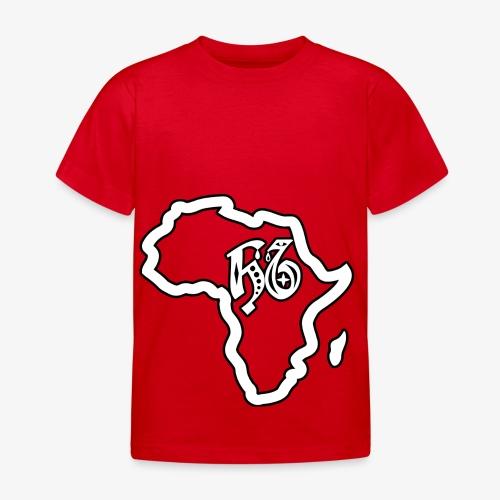 afrika pictogram - Kinderen T-shirt