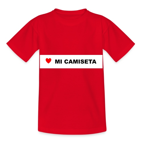 amomicamiseta - Camiseta niño