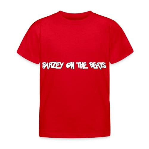 barzey on the beats 4 - Kids' T-Shirt