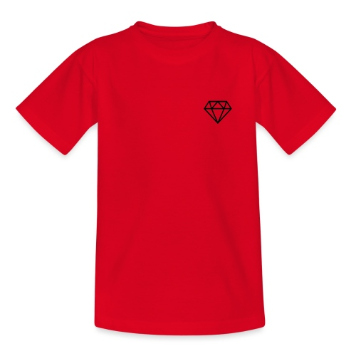 black diamond logo - Kids' T-Shirt