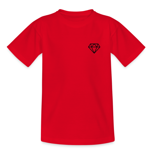 black diamond logo - Kids' T-Shirt