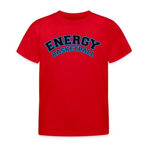 baby energy basketball logo nero - Maglietta per bambini
