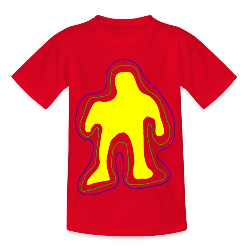 The famous yellow man - Kids' T-Shirt