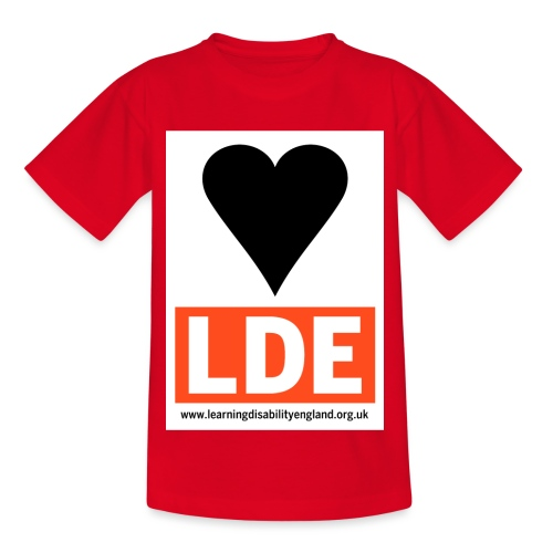 I Love Learning Disability England - Kids' T-Shirt