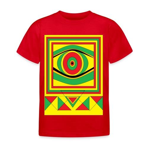 ALL seeing eye RASTA burn down babylon Original - Kinderen T-shirt