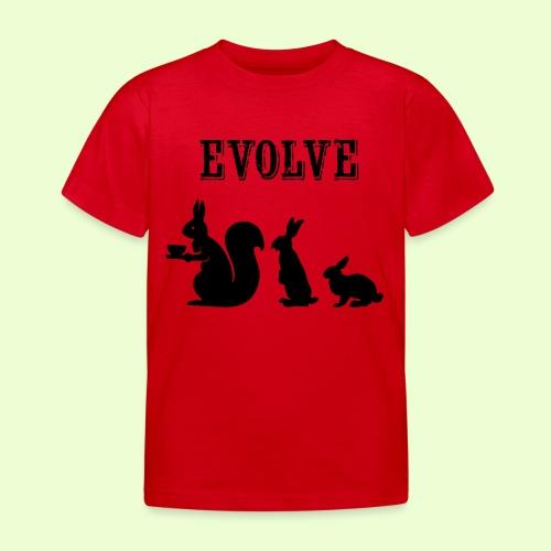 EvolveBunny - Kinderen T-shirt