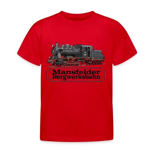 mansfelder bergwerksbahn dampflok 1 - Kinder T-Shirt