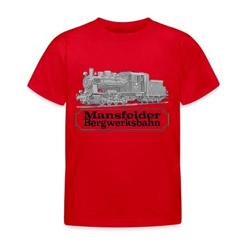 mansfelder bergwerksbahn dampflok 2 - Kinder T-Shirt
