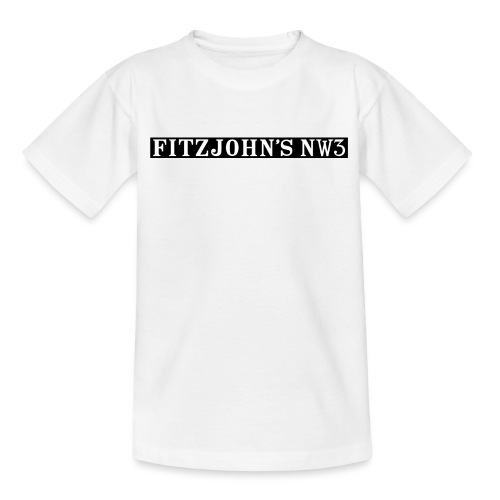 Fitzjohn's NW3 black bar - Kids' T-Shirt