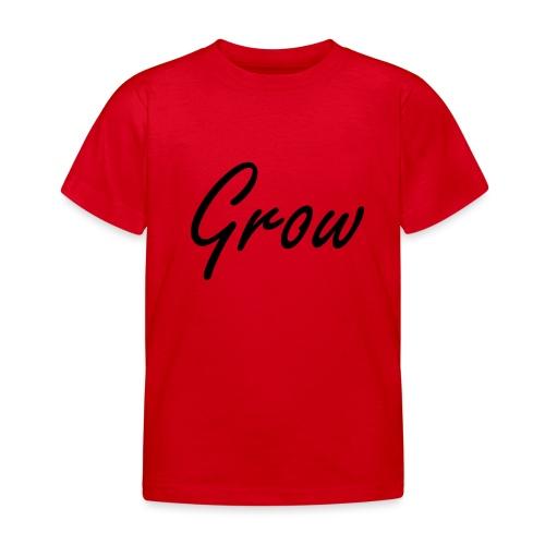 Grow - Kinder T-Shirt