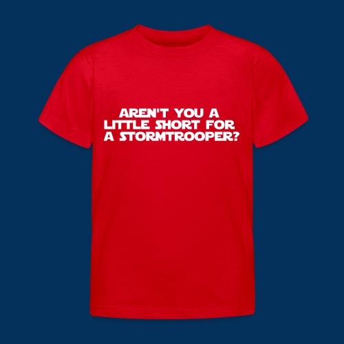 tshirttrooper - Kids' T-Shirt
