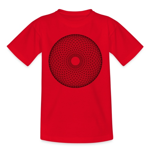 Torus Yantra - Hypnotic Eye - Børne-T-shirt