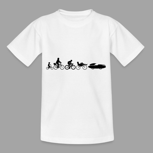 Bicycle evolution black Quattrovelo - Lasten t-paita
