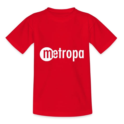 METROPA Logo dark - Kinder T-Shirt