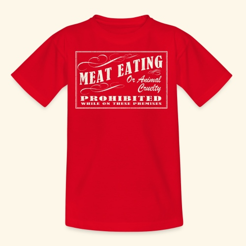 Prohibition Sign - Kids' T-Shirt