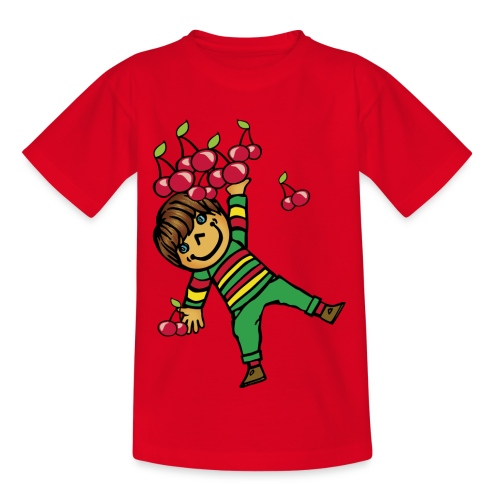 08 kinder kapuzenpullover hinten - Kinder T-Shirt