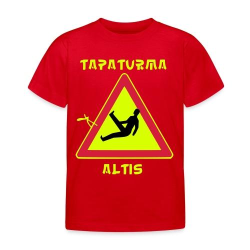 tapaturmaaltis3 - Lasten t-paita