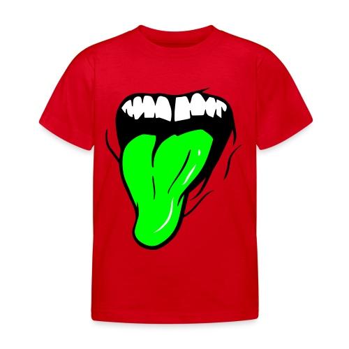 MUND + ZUNGE - Kinder T-Shirt