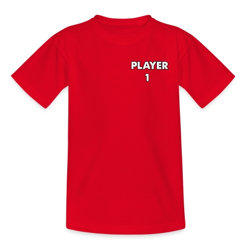 Diseño de PLAYER 1 para niños y adultos - Camiseta niño