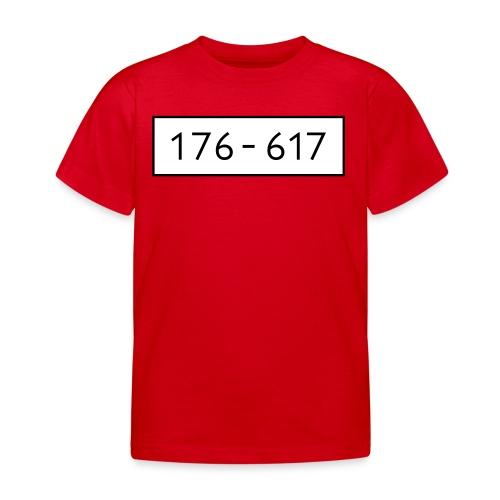 Panzerknacker 6 Nummern Gruppenkostüme Fasching - Kinder T-Shirt