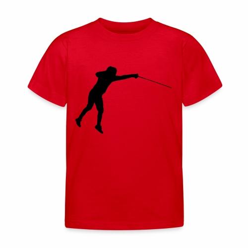 Jumping Fencer - Kinder T-Shirt