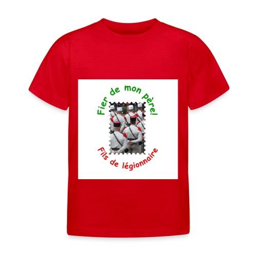 T-shirt bio fier de mon père (garçon) - T-shirt Enfant