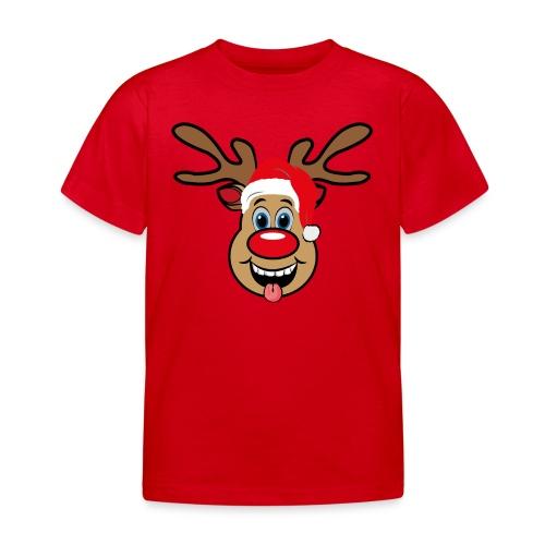 Team Rudolph Rudi Reindeer - Kinder T-Shirt