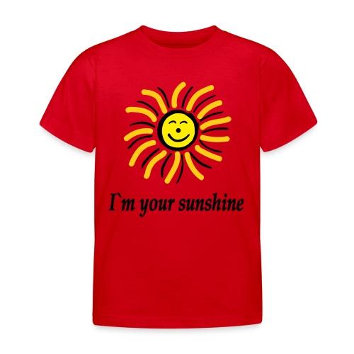 2i m youre sunshine Gelb Top - Kinder T-Shirt
